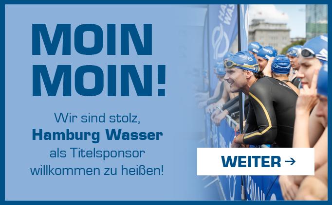 Hamburg Wasser ist neuer Titelsponsor!