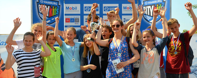 Foto Kids World Triathlon Hamburg