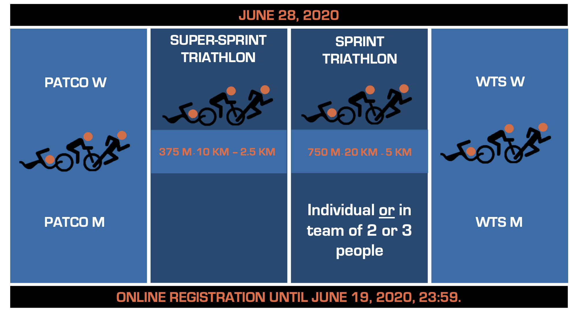 Triathlon Calendrier 2020.Schedule Groupe Copley World Triathlon Montreal 2020