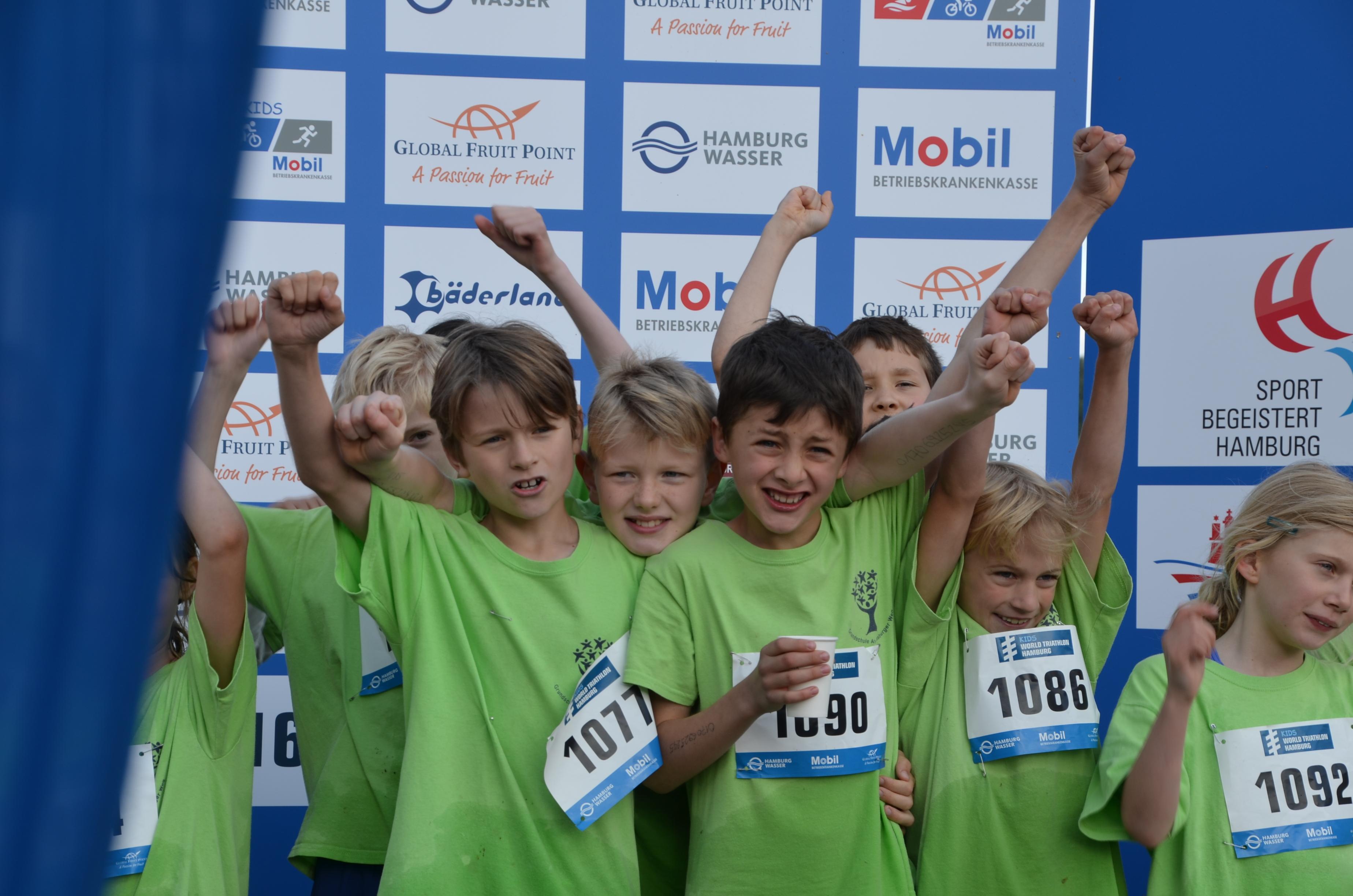 Anmeldung für den Kids World Triathlon Hamburg jetzt geöffnet
