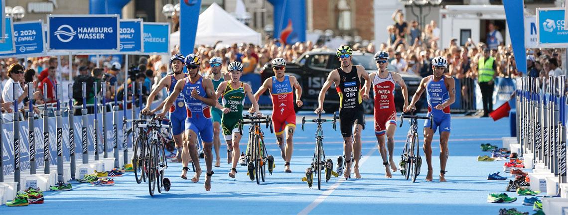 Triathlon bei den olympischen Spielen: Eine Geschichtsstunde