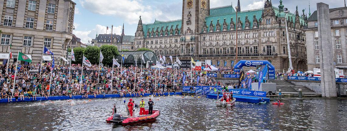 Hamburg Wasser World Triathlon gibt Veranstaltungstermin für 2017 bekannt